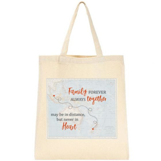 Family Forever Tote Bag