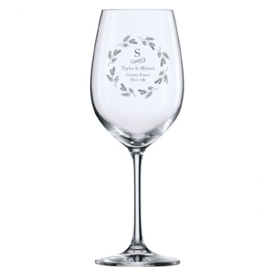 Vineyard Wine Glass