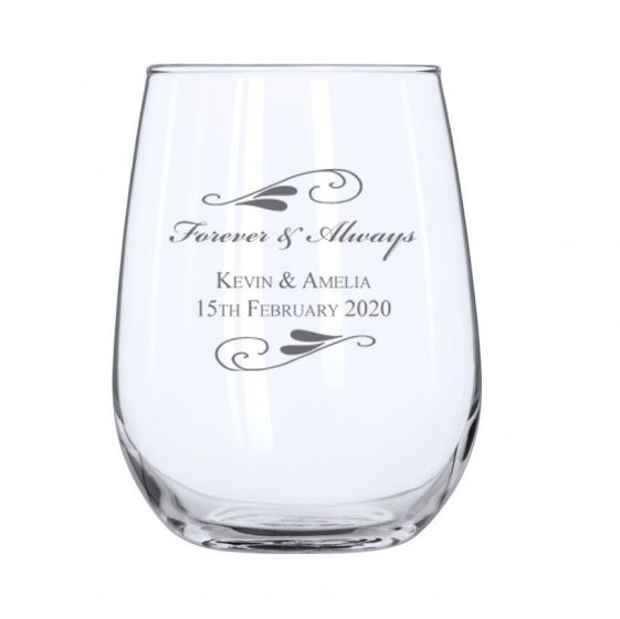 Flourish Stemless Wine Glass