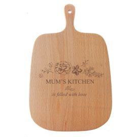 Floral Design Chopping Board
