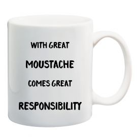 The Great Moustache Mug
